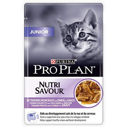 Purina Proplan Cat Nutrisavour Junior Dinde 24 pochons 85 grs