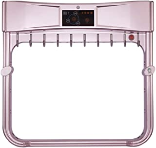 Toalleros rack montado en la pared eléctrico de toallas secadora eléctrica, temperatura constante inteligente con pantalla táctil Panel de control Baño radiador no es fácil de óxido blanco 57.5x26x61.