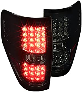 Spec-D Tuning LT-F15009GLED-TM Ford F150 Xl Xlt Led Brake Lamps Smoke Tail Lights