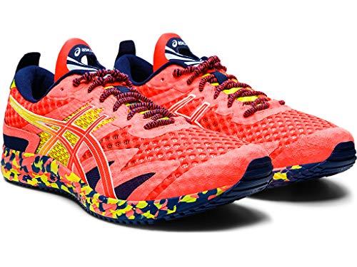 ASICS Men's Gel-Noosa Tri 12 Running Shoes, 8, Flash Coral/Flash Coral