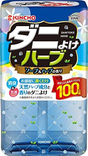 KINCHO(金鳥)『ダニよけハーブ100日ソープ&ハーブの香り』