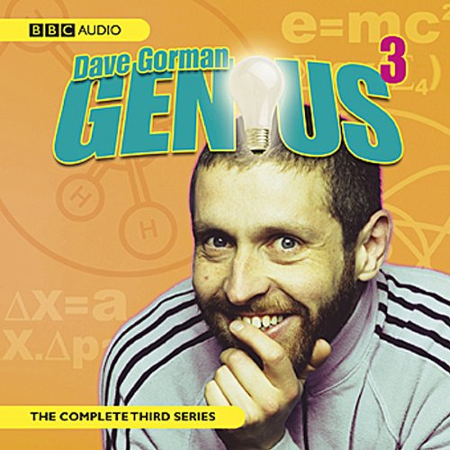 Dave Gorman's Genius Series 3 audiobook cover art