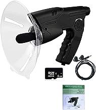 Parabolic Monocular Telescope, Bionic Ear Long Range Birds Listening, Monocular X8 Bionic Sound Amplifier, with TF Memory ...