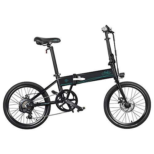 Bicicleta eléctrica Plegable para Adultos FIIDO D4S, Bicicleta de montaña para Hombre...
