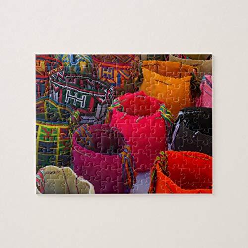 Wayuu Mochilas Bolsas a la venta en Colombia Rompecabezas de 1000 piezas, desafiantes y educativos, rompecabezas de pintura abstracta para niños y adultos