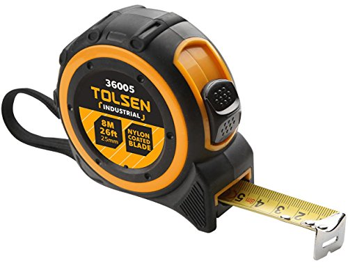 Tolsen 8m Tape Measure (Industrial Spec)