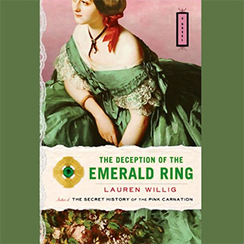 The Deception of the Emerald Ring audiobook cover art