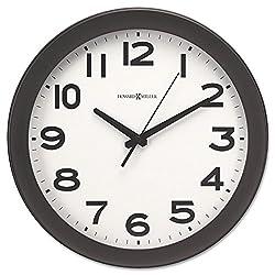 Brother Howard Miller 625485 Kenwick Wall Clock, 13-1/2-Inch, Black