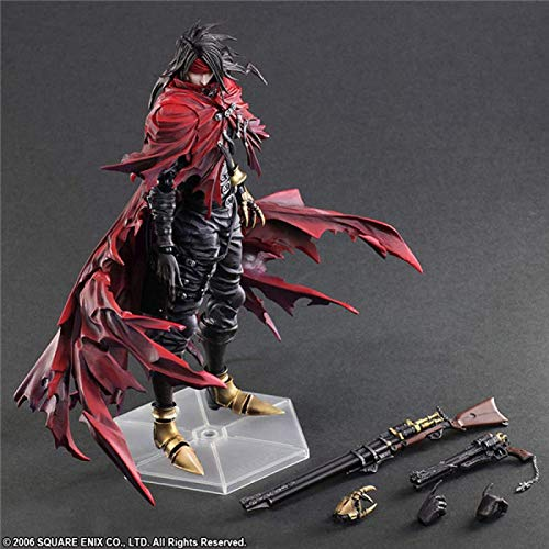 Play Arts Dirge of Cerberus Final Fantasy 7 Vincent Felhunter Collectable Action Figure Model Toys
