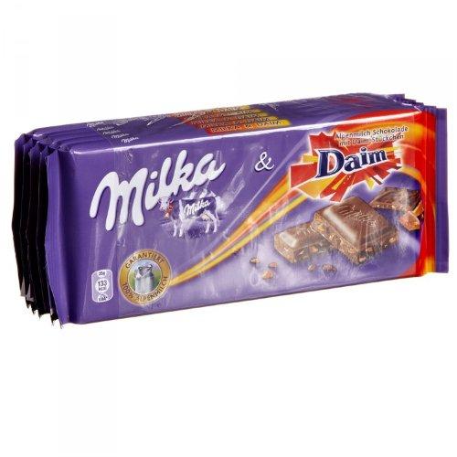 Milka Daim - Schokolade mit Daim-Stückchen 5x100g