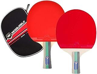 Winmax Unisex Adult 3 Stars Table Tennis Racket - Multi Color, 15 x 16 cm