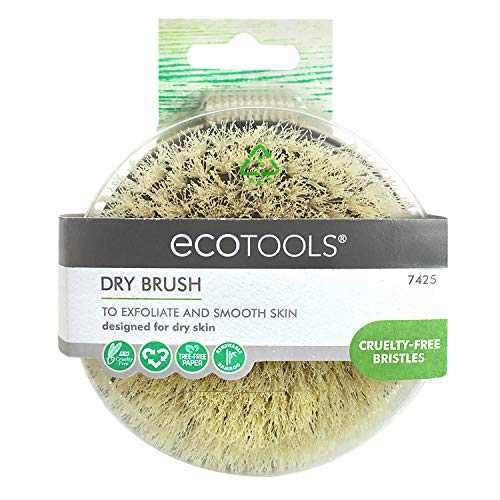 EcoTools Dry Body Brush, Dry Skin Scrubber for Before Bath and Shower