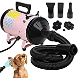 ZanGe 2800W Speed Dog Hair Dryer Dog Cat Pet Grooming Hairdryer Motorbike Car Heater Blaster Blower...