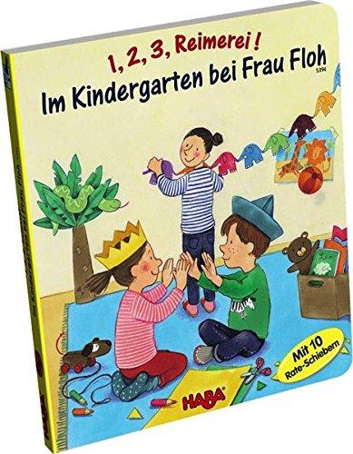 HABA 5394 - 1, 2, 3, Reimerei! Im Kindergarten bei Frau Floh