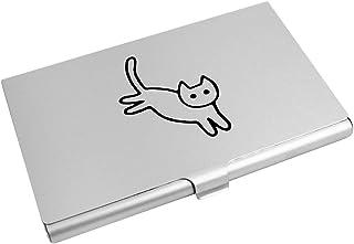 Azeeda 'Cute Cat' Business Card Holder / Credit Card Wallet (CH00014973)