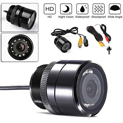 Auto Parkeerhulp Camera Infrarood IR Nachtzicht 28 MM Gatenzaag Waterdicht voor STEREO Achteruitrijcamera PAL/NTSC CCD