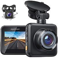 Apeman 1080P FHD Dual Dash Cam for Cars
