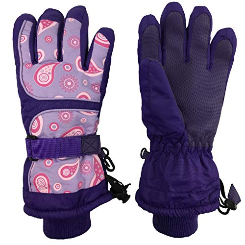 N'Ice Caps Kids Scroll Print Waterproof Thinsulate Insulated...