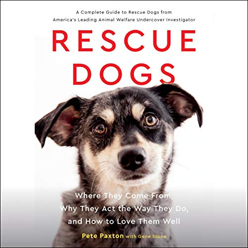 Rescue Dogs audiobook cover art