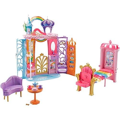 Barbie - Ftv98 Castello Arcobaleno, Multicolore