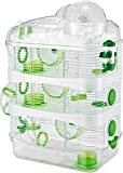 Best Hamster Cages - 4-Levels Hamster Mice Mouse Cage with Large Top Review