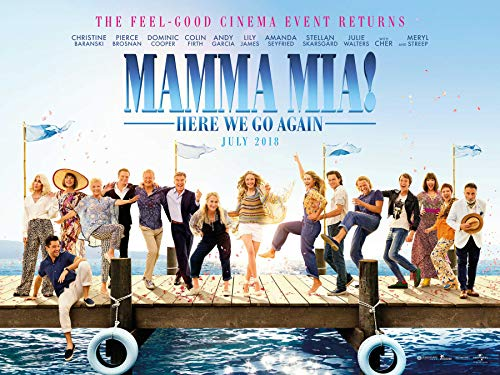 Mamma Mia! The Movie Soundtrack Poster Standard Size 18×24 inches