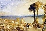 The Poster Corp Joseph M.W. Turner – Arona Lago Maggiore