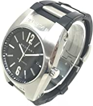 (ブルガリ)BVLGARI EG40S エルゴン デイト オートマティック 腕時計 SS/ラバー メンズ 中古