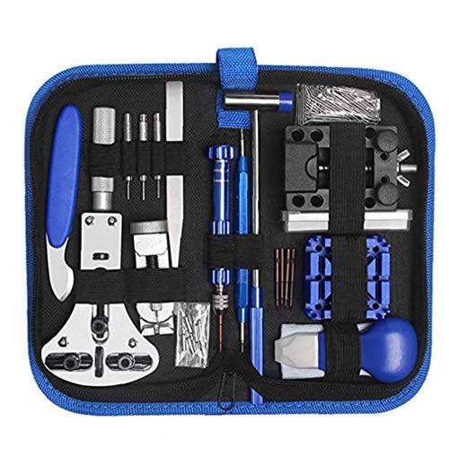 TOPofly Uhr-Reparatur-Kit Uhrmacher- Werkzeug Band-Verbindungs-Fall-Halter Openers Frühlings-Stab-Pin-Werkzeug-Set 185 PCS Praktische Werkzeuge