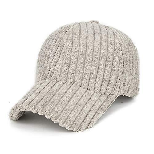 Xme Sombreros de Pana cálidos para Exteriores de otoño e...