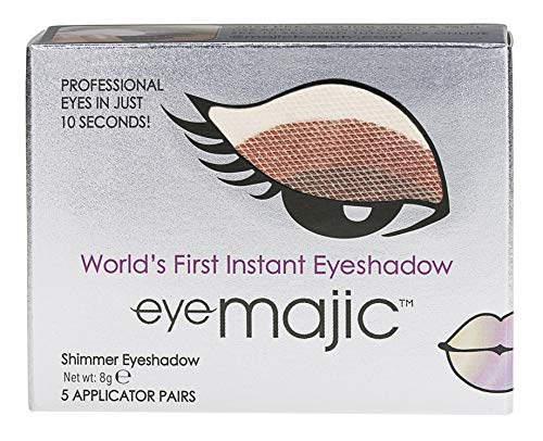 Eye Majic - Instant-Lidschatten - leichtes, professionelles Make-up in 10 Sekunden - 5 Paar - Gold...