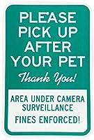 犬を花壇に近づけないでください。コミュニティでペットを飼うのに役立ちます。 メタルポスタレトロなポスタ安全標識壁パネル ティンサイン注意看板壁掛けプレート警告サイン絵図ショップ食料品ショッピングモールパーキングバークラブカフェレストラントイレ公共の場ギフト