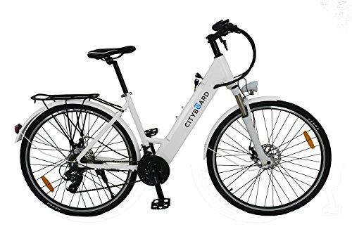Cityboard S1 White Bicicleta Eléctrica de Paseo de 26