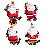 FiedFikt, bambola natalizia decorativa in ceramica a forma di Babbo Natale, giocattolo per bambini, decorazione per la casa, regalo di Natale per la famiglia, i bambini, gli amici