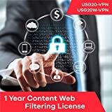 Zyxel Content Web Filtering Subscription License (1 Year) for USG20-VPN | USG20W-VPN