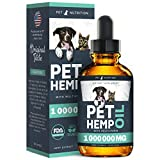 Pet Nutrition - Hemp Oil Dogs Cats - 100 000 MG - Helps Pets with...