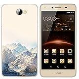 Litao-Case LLM Funda para Huawei Y5II Y5 II CUN-L01 CUN-TL00 Funda TPU Suave Silicone Carcasa Case Cover 6
