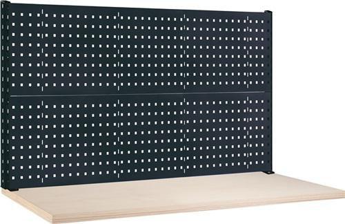 Thur Metall AG Lager- und Betriebseinrichtungen Werkbank-Aufbau B1500xT60xH700mm ohne Energieleiste anthrazitgrau