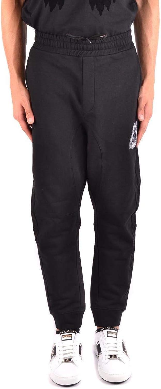 MCQ BY ALEXANDER MCQUEEN Men's 494035RLT701000 Black Cotton Pants