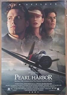 PEARL HARBOR MOVIE POSTER 2 Sided ORIGINAL (2001) 27x40 KATE BECKINSALE