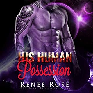 His Human Possession: An Alien Warrior Romance audiobook cover art