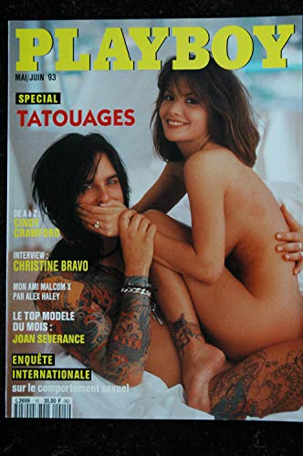 PLAYBOY 015 MAI 1993 INTERVIEW CHRISTINE BRAVO SPECIAL TATOUAGES BARBARA MOORE JOAN SEVERANCE ECHO JOHNSON CINDY CRAWFORD