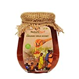 Naturekart Organic honey ( 500 gram ) Certified by APEDA Govt. Of India | No added Sugar | Raw honey organic unprocessed | Wild Pure honey Organic Forest | Natural wild honey organic - 500 Gram