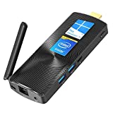 Mele Fanless Mini PC Stick Intel Celeron J4125 8G/128G Windows 10 Pro Mini Computer Support HDMI 4K 60Hz Dual Band WiFi with Gigabit Ethernet Port PCG02 GLE