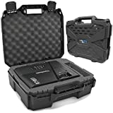 CASEMATIX Projector Travel Case Compatible with ViewSonic PA503S, PA503W, PA503X, PG703W, PG703 Projectors, HDMI Cable and Remote, Case Only