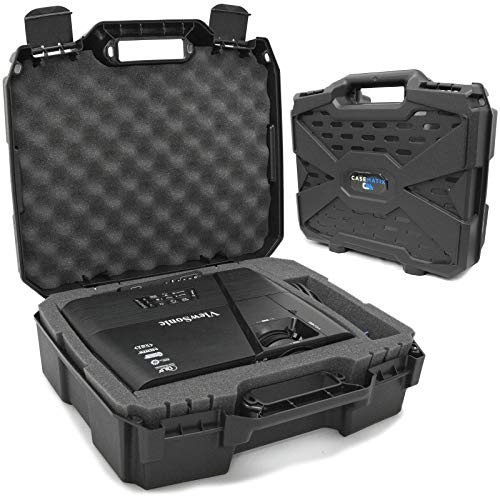 CASEMATIX Projector Travel Case Compatible with ViewSonic PA503S