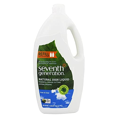 Seventh Generation Dishwashing Liquid, Natural, 50 Fl Oz
