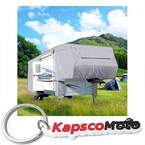 North East Harbor Waterproof Superior 5th Wheel Toy Hauler RV Motorhome Cover Fits Length 20