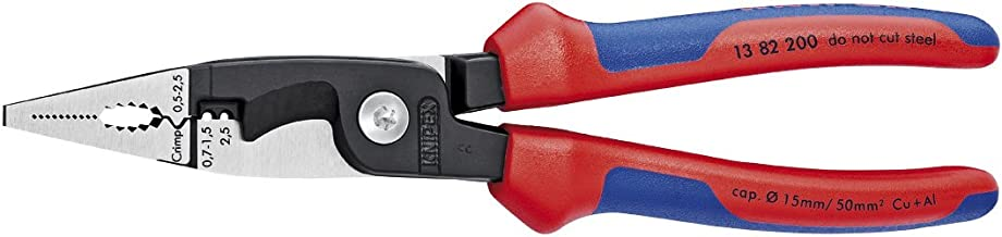 Knipex Tools 13 82 200 SB Electrical Installation Pliers