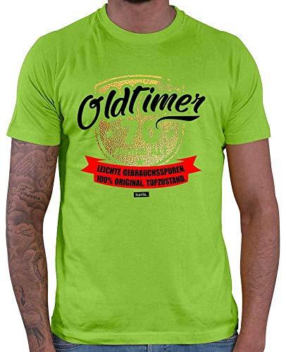 Hariz – Camiseta para hombre, diseño de los 70 años de antigüedad con texto en alemán